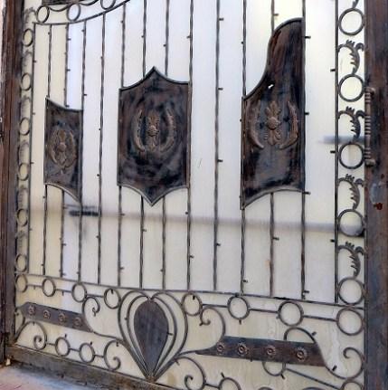 Gate detail 14 r