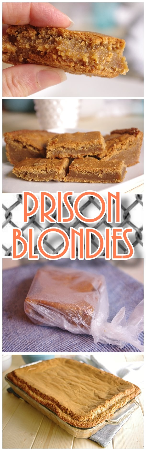 Prison Blondies Blonde Brownies Cookie Bars Dessert Recipe - SO worth a felony - but really - how about just make them at [8239835]