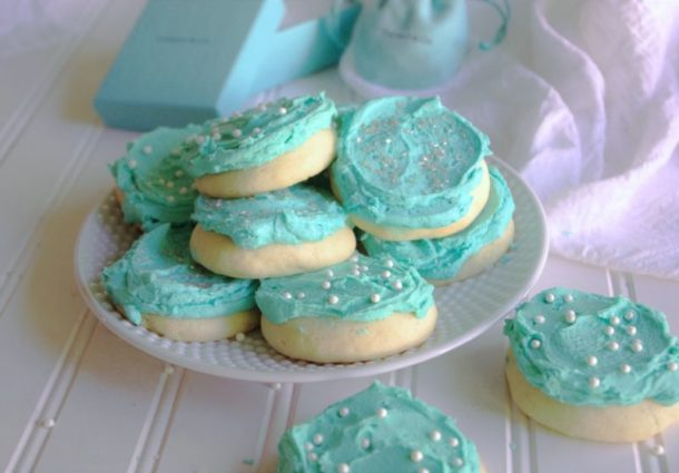 Tiffany Blue Better Than Lofthouse Lightly Lemon Greek Yogurt Sugar Cookies Recipe