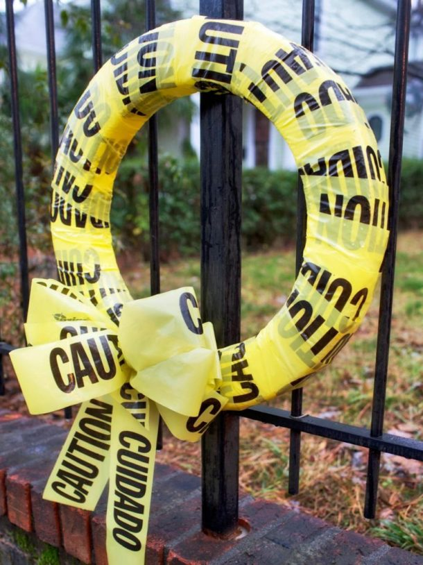 Caution Crime Scene Tape EASY