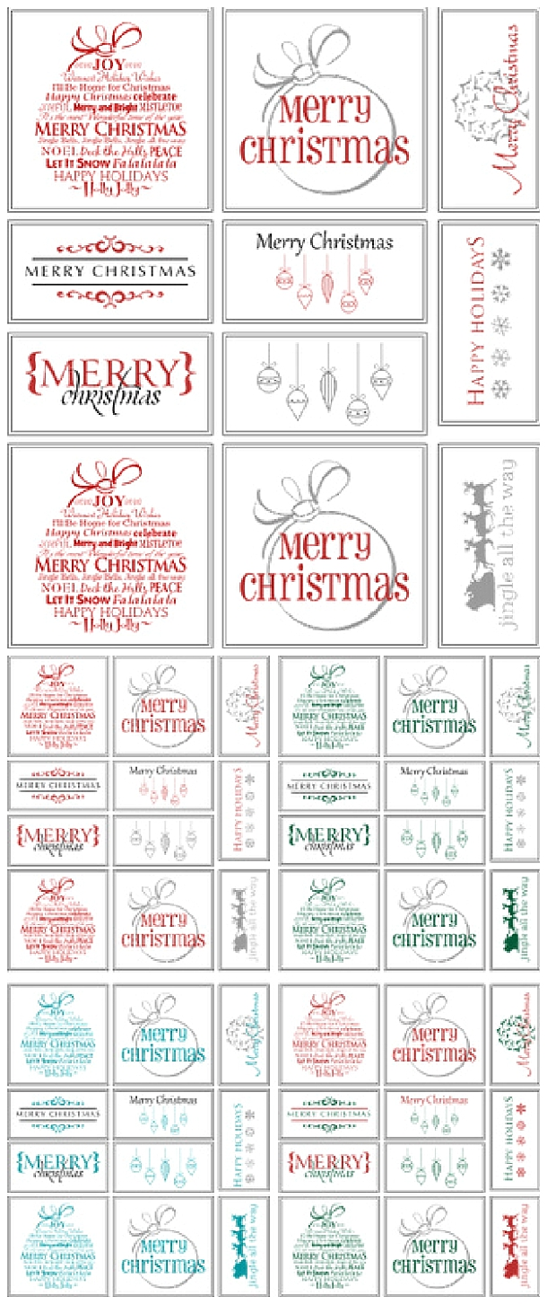 Christmas Printable Gift Tags Free