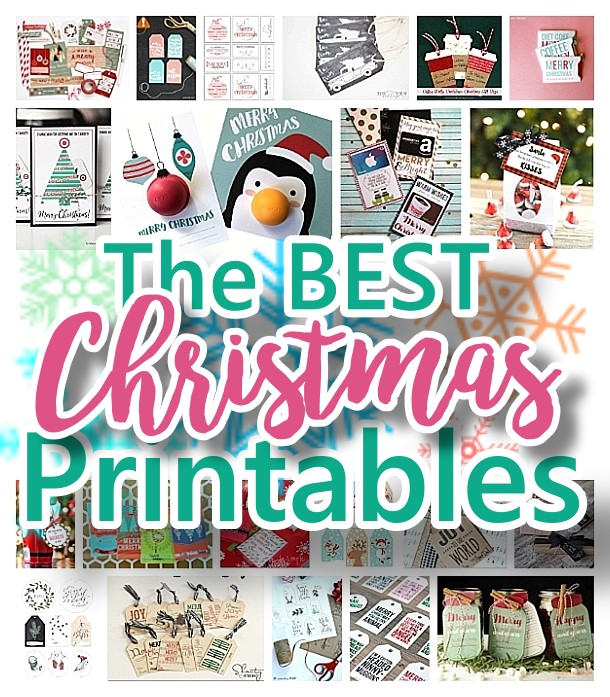 the best christmas and holiday free printables gift tags gift card holders christmas - Free Holiday Printables