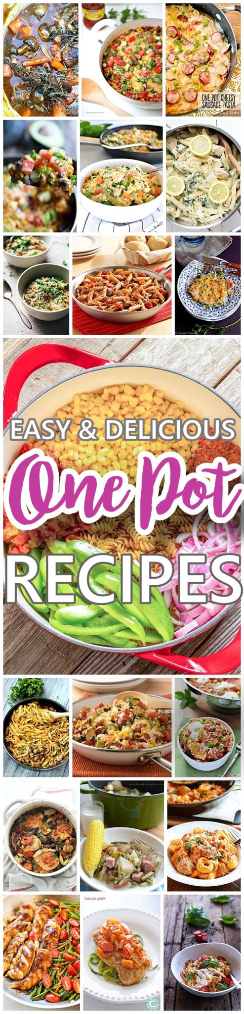 Easy recipes for a busy family