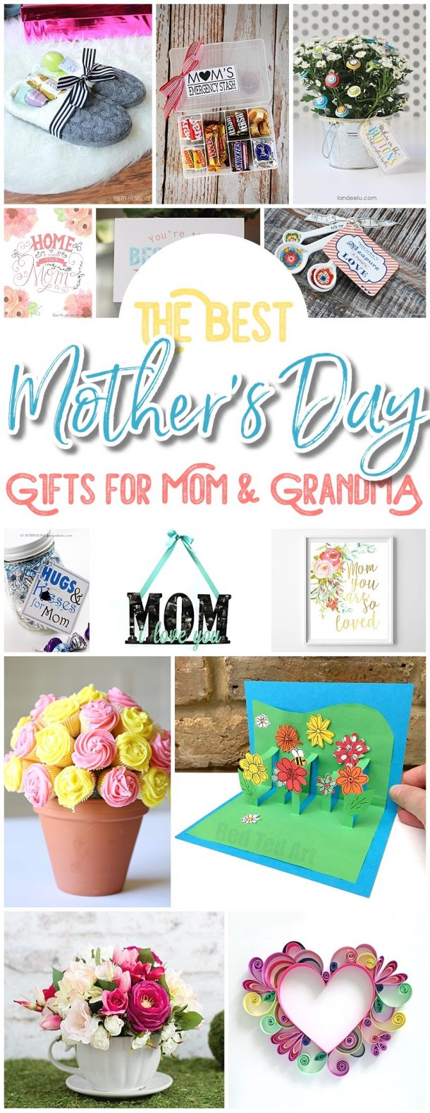 The Best Easy Diy Mother S Day Gifts And Treats Ideas Holiday Craft Activity Projects Free Printables And Favorite Brunch Desserts Recipes For Moms And Grandmas Dreaming In Diy