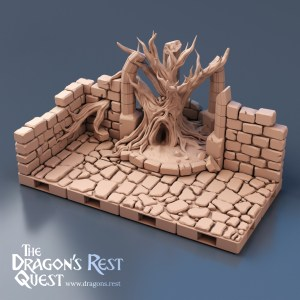 Dungeon Tree Wall