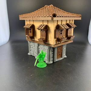 Small Terracotta Building