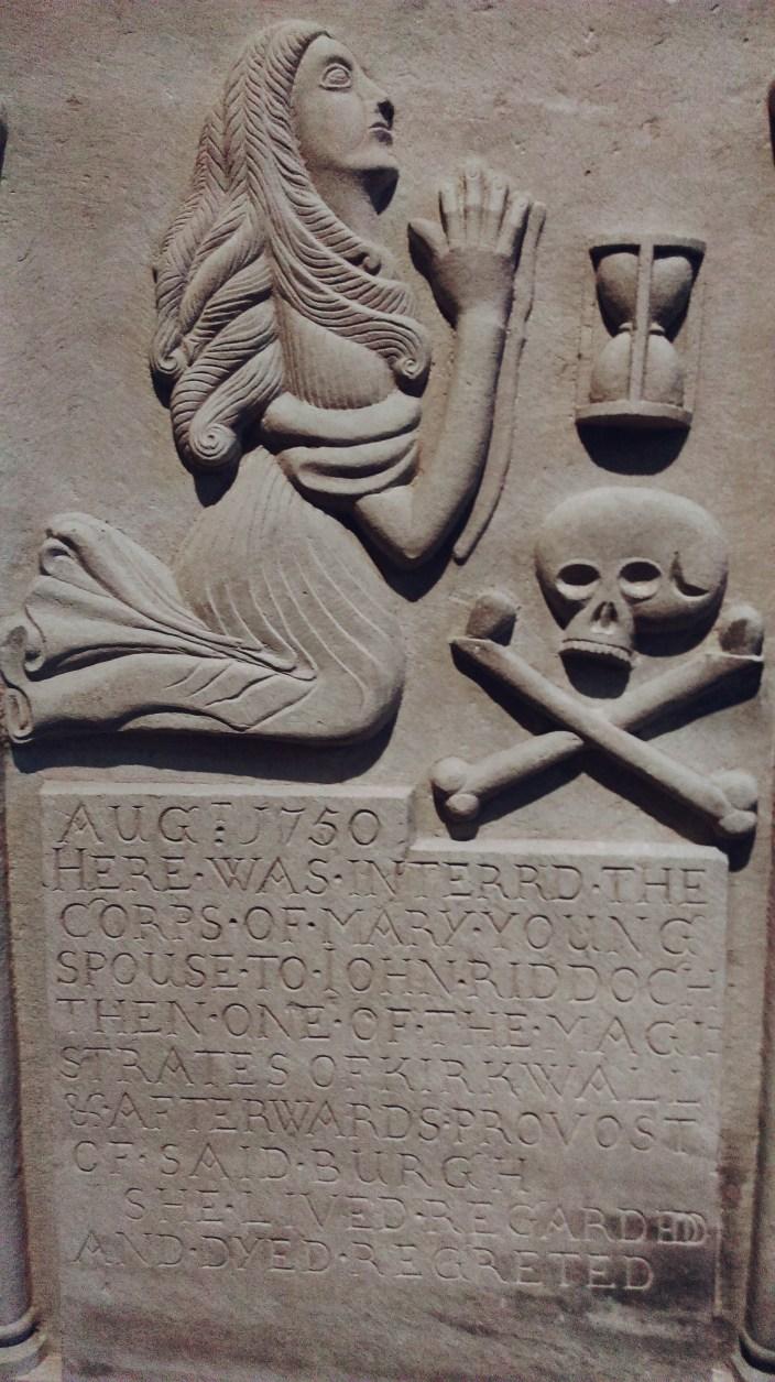 Tombstone St Magnus Kirkwall