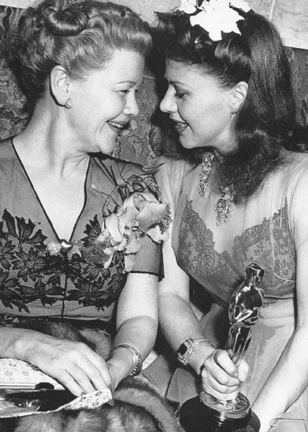 Ginger with her mother, Lela Rogers