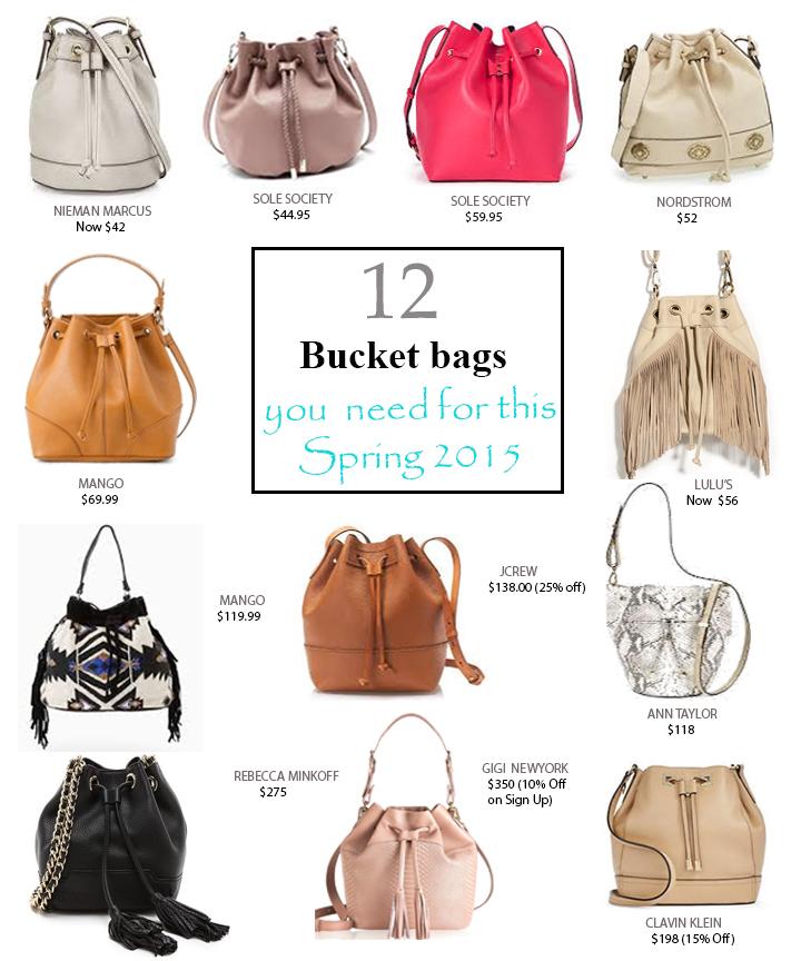 12 best bucket bags of 2015