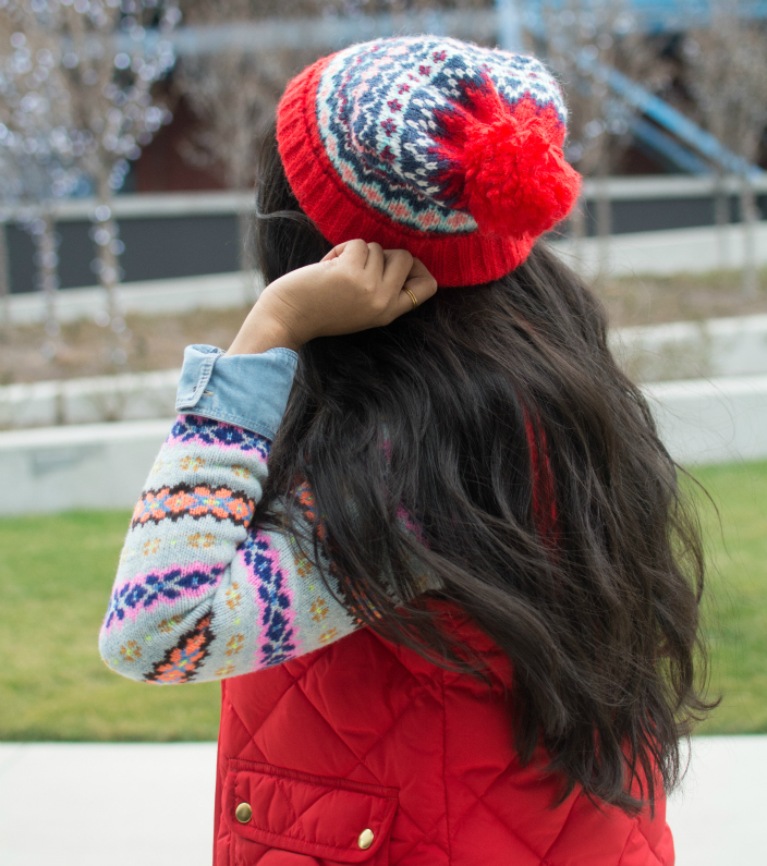 Trending Now: Fair isle and Pom Pom hats