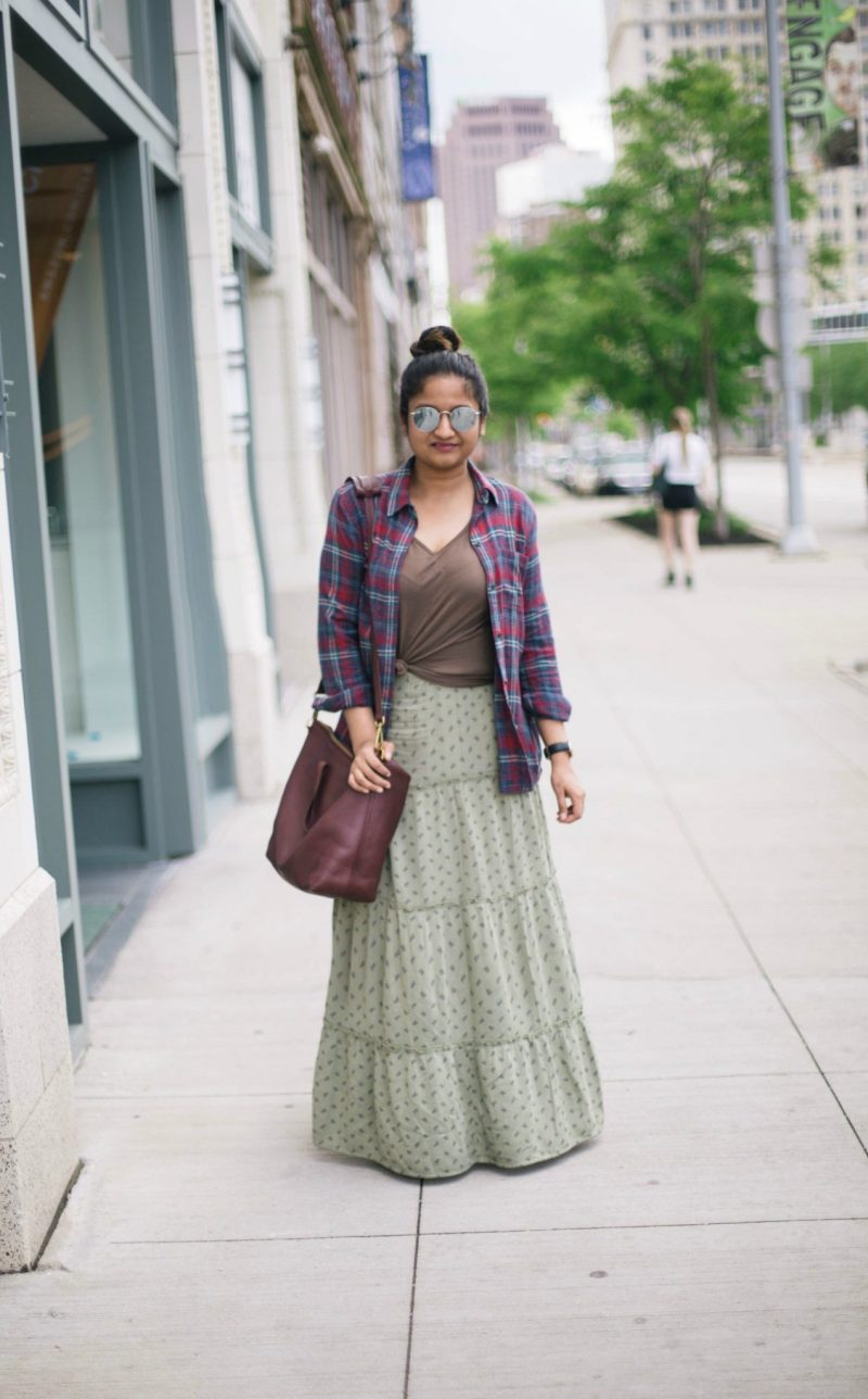 4-casual-ways-to-wear-a-target-maxi-skirt