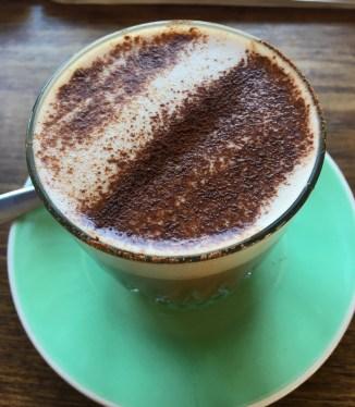 Magic Mushroom Hot Chocolate at the Roadhouse