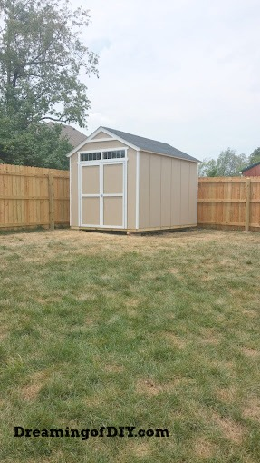 Backyard Shed Project