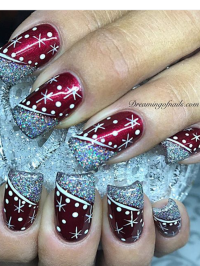 20 Festive and fun nail art ideas for Christmas - Dreaming ...