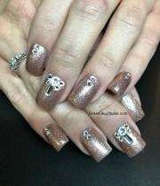 8 gorgeous january nail design
