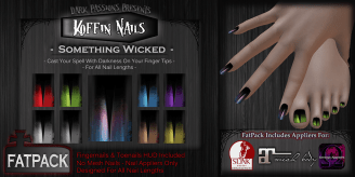 Koffin Nails - Fatpack - Something Wicked