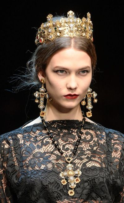Designer Dupes: Dolce and Gabbana Ornate Crosses