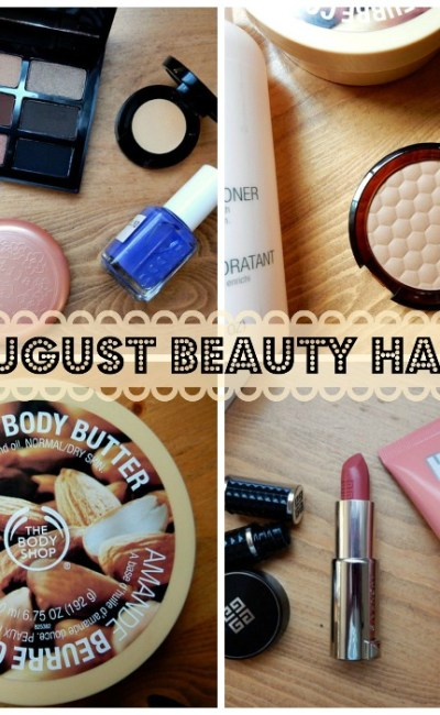 My Epic August Fall Makeup Haul