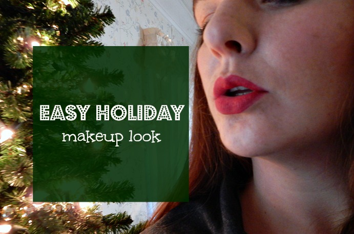 Easy Holiday Makeup Look