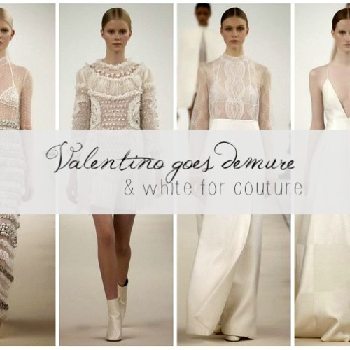 Valentino Haute Couture in NYC