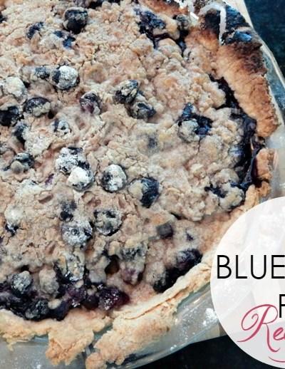 In the Kitchen: Best Blueberry Pie Recipe, Ever!