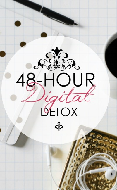 What Happens in a 48-Hour Digital Detox