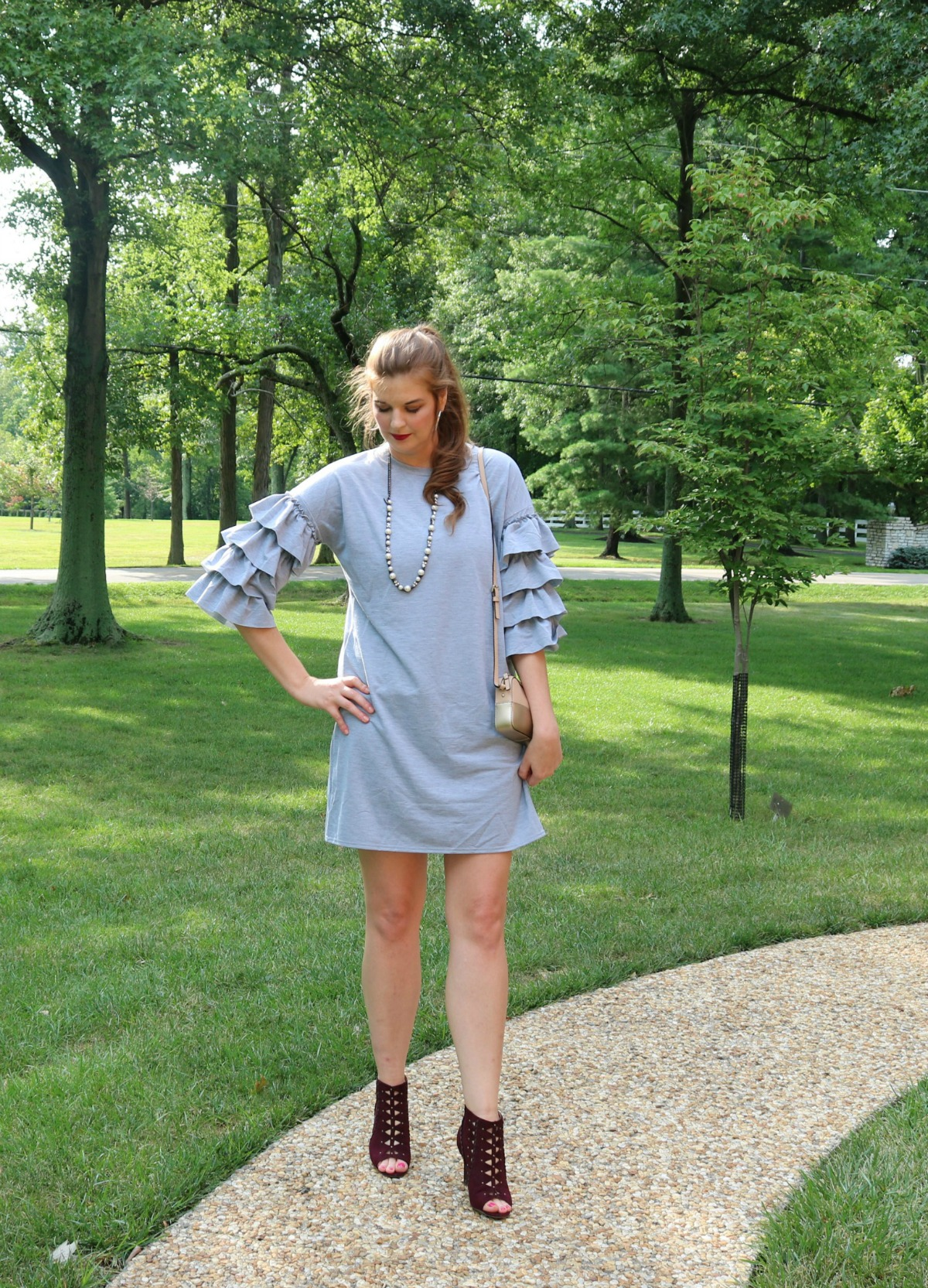She In Bell Sleeve Knit Dress I Pre-Fall Style