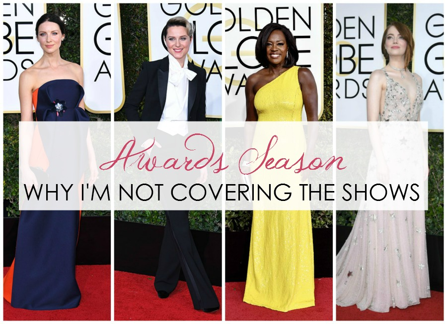 Why I'm Not Covering the Golden Globes I DreaminLace.com