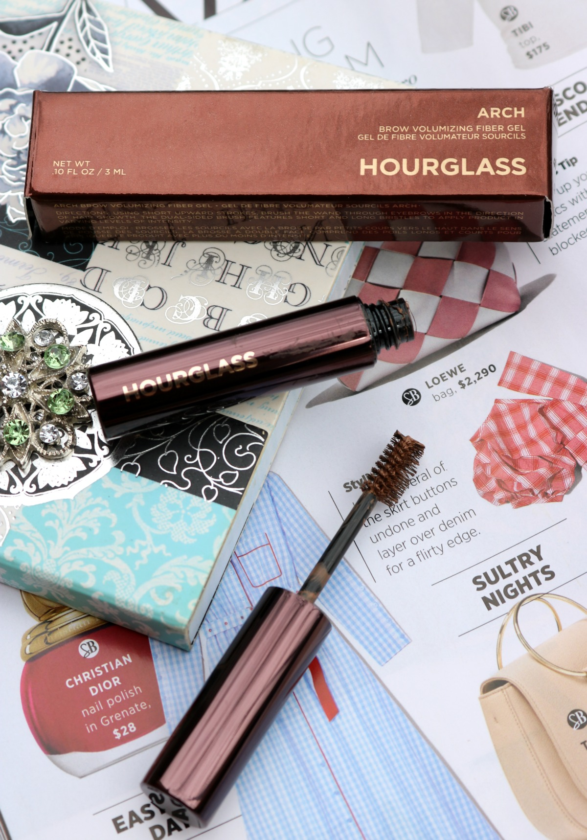 Most Popular Blog Posts of 2018 I Houglass Arch Brow Gel Review I Voluminizing Fiber Eyebrow Gel #CrueltyFree #Eyebrows
