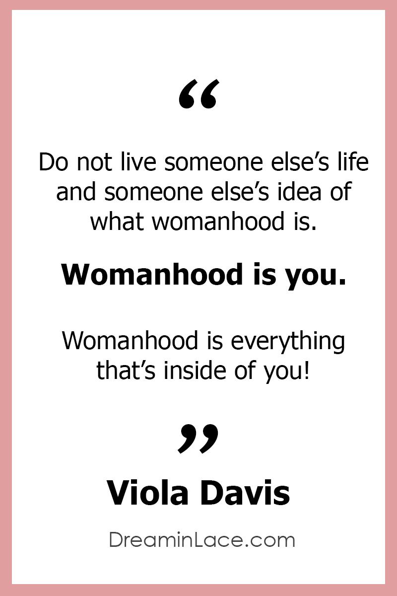 Inspiring Women's Day Quote by Viola Davis #WomensDay #ViolaDavis #Quotes