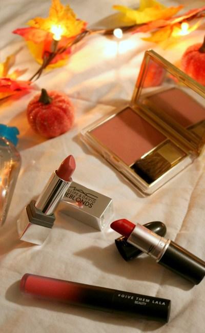 Inside My Fall Travel Makeup Bag