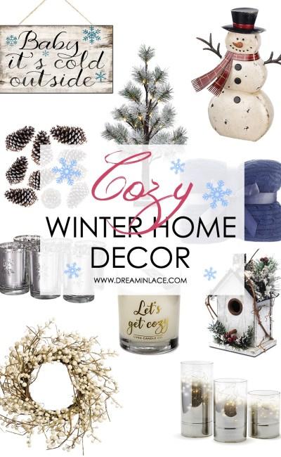 Cozy Winter Home Decor on Amazon