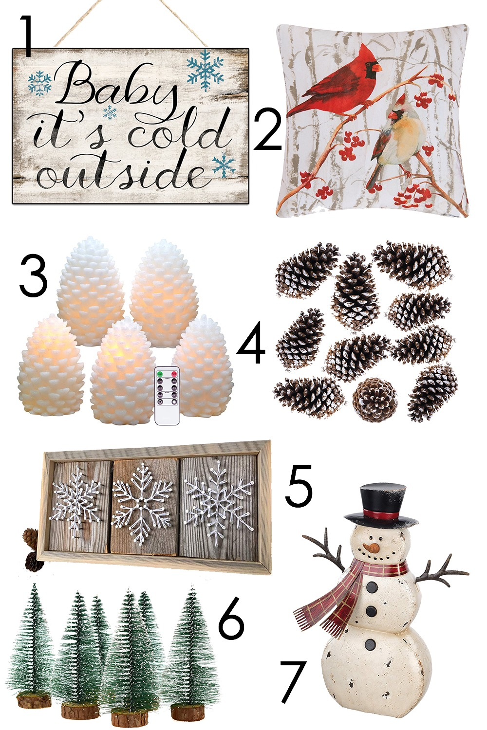 Cozy Winter Home Decor on Amazon to Lift Your Spirits I DreaminLace.com #HomeDecor #WinterDecor #CozyDecor #Cozy