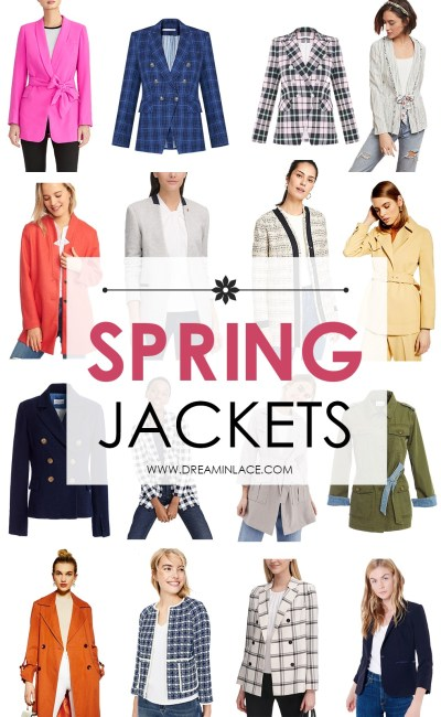 Stylish Spring Jackets On My Radar