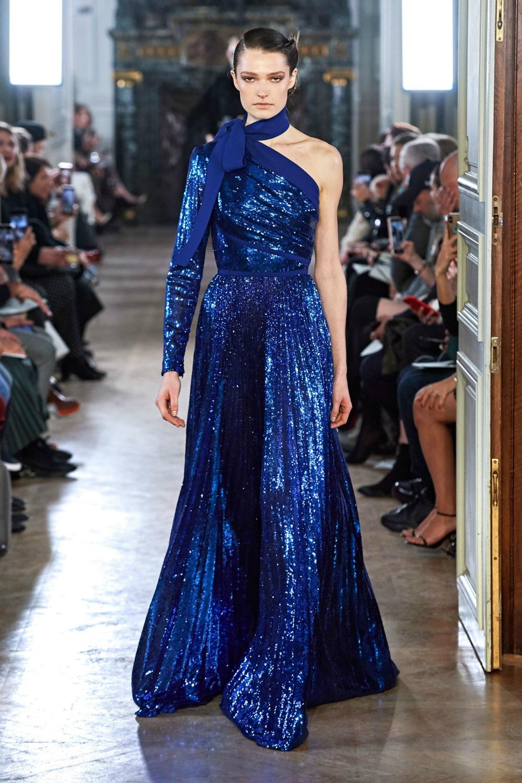 Best Paris Fashion Week Looks - Elie Saab Fall 2019 Runway Collection #PFW #FashionWeek