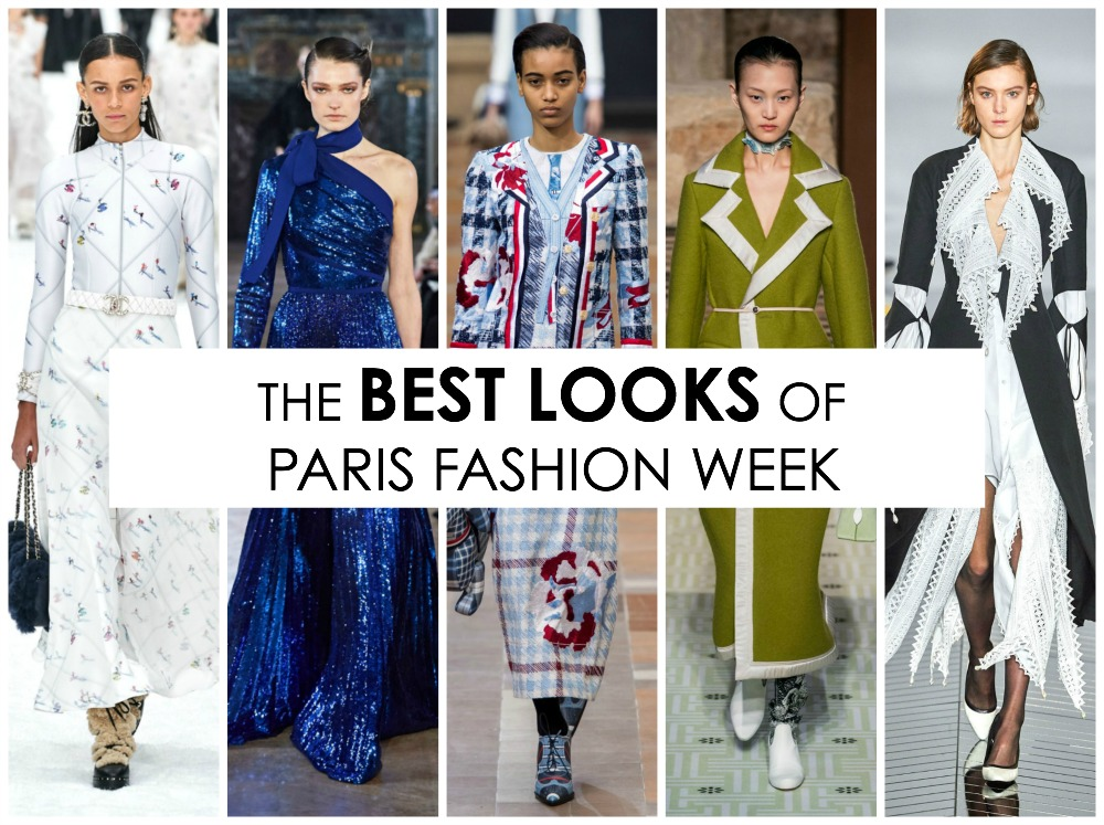 Best Paris Fashion Week Looks Off the Fall 2019 Collection Runways