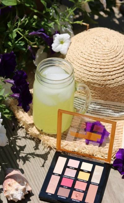 Drinking Up Maybelline's Lemonade-Inspired Eyeshadow Palette