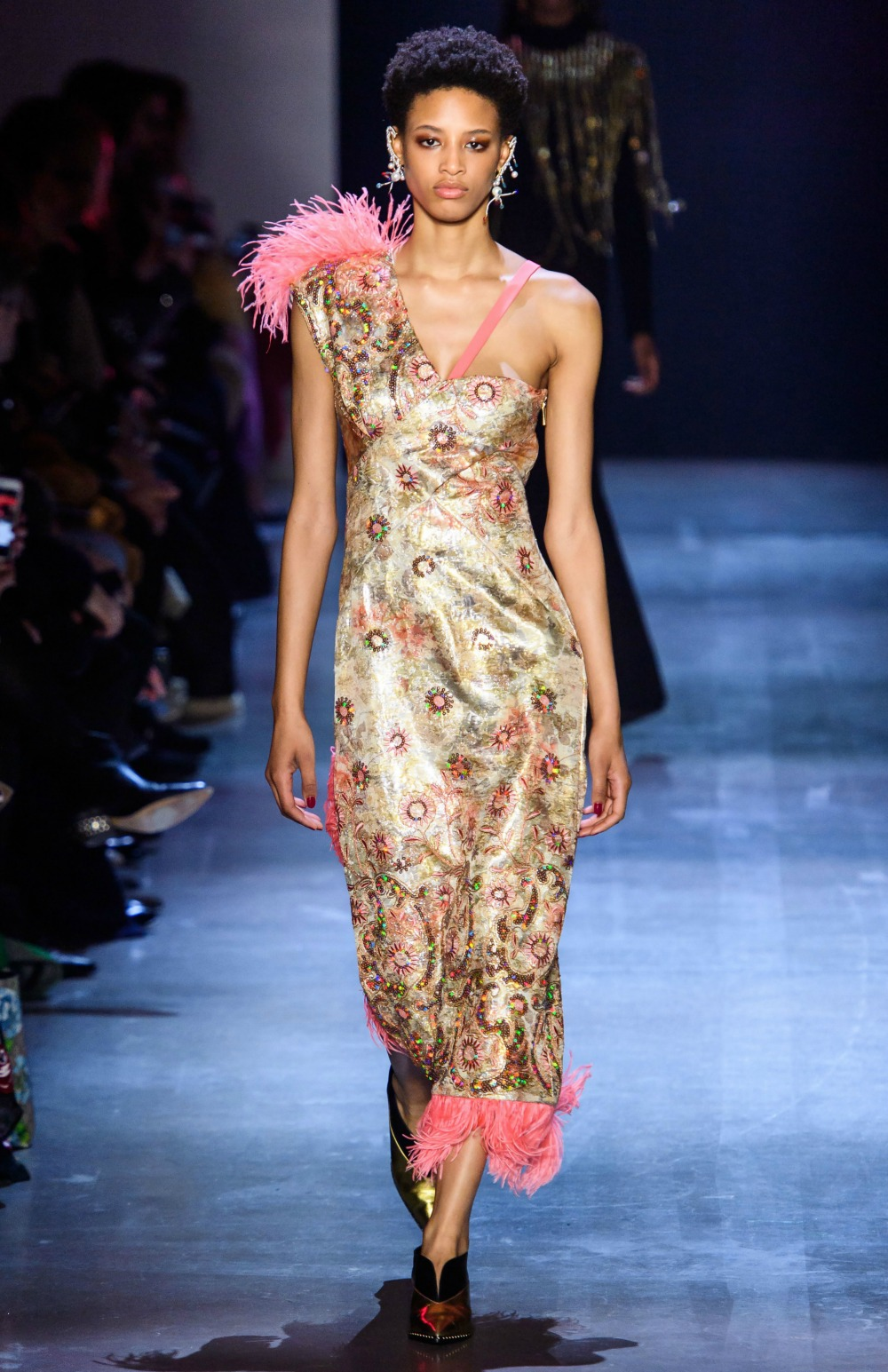 2019 Fall Fashion Trends to Wear Now I Feather Accents on Prabal Gurung FW19 Runway #FallFashion #Runway #Trends #FashionBlog #Styleinspo