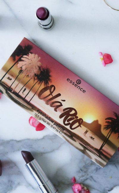 The Sunset Inspired Essence Ola Rio Palette