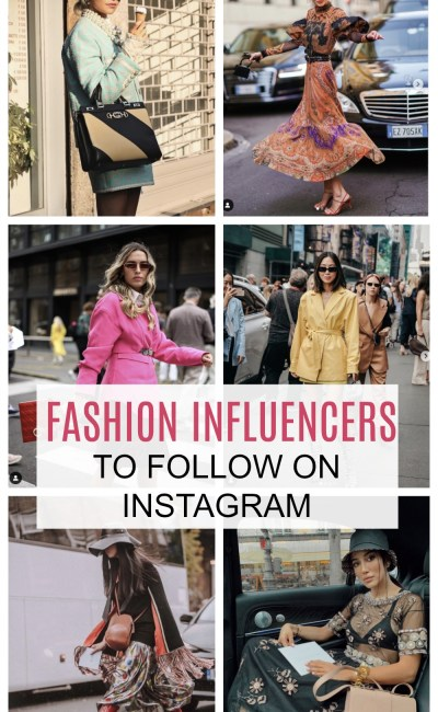 Best Fashion Influencers to Follow on Instagram During Fashion Week