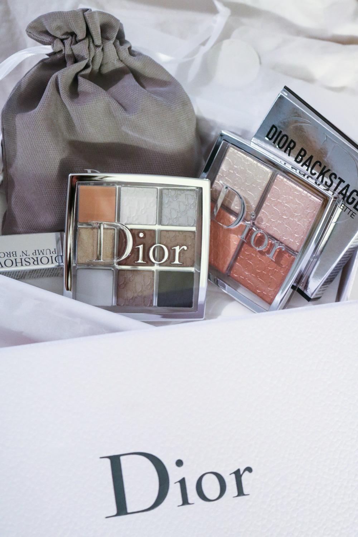 Dior Backstage Glow palette and Custom Eyeshadow Palette I DreaminLace.com