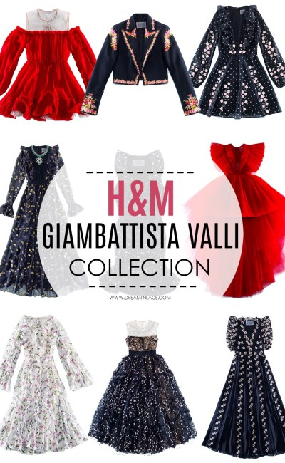 H&M x Giambattista Valli Did Not Hold Back