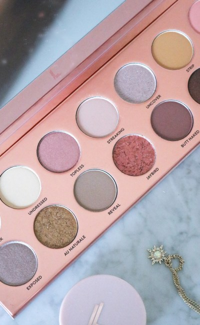 The Laura Lee Nudie Patootie Eyeshadow Palette