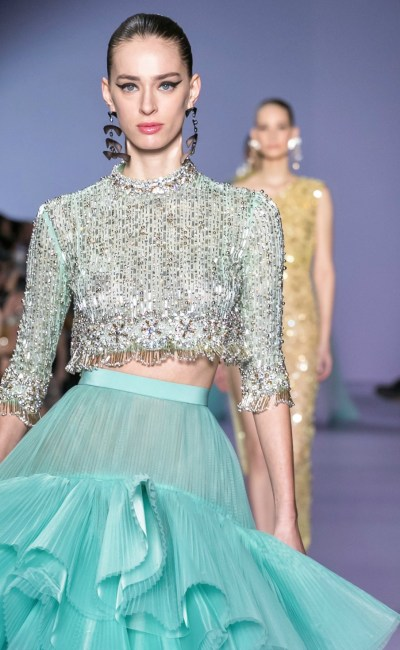 Georges Hobeika's Latest Couture Collection Will Brighten Your Day