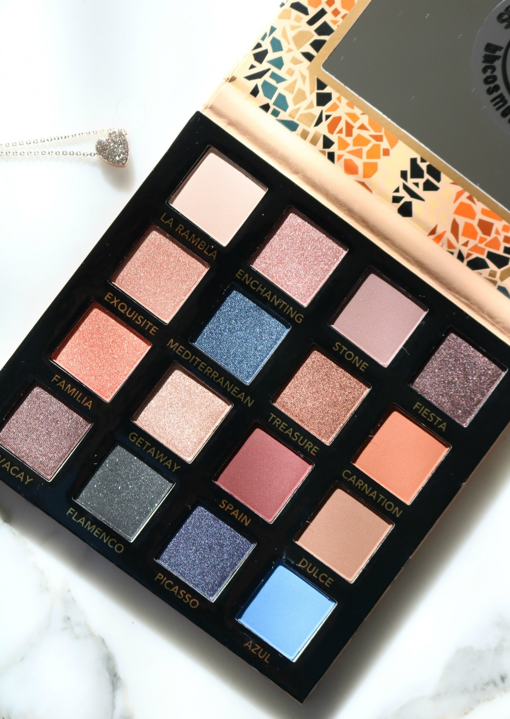 New Drugstore Makeup Testing I BH Cosmetics Barcelona Eyeshadow Palette