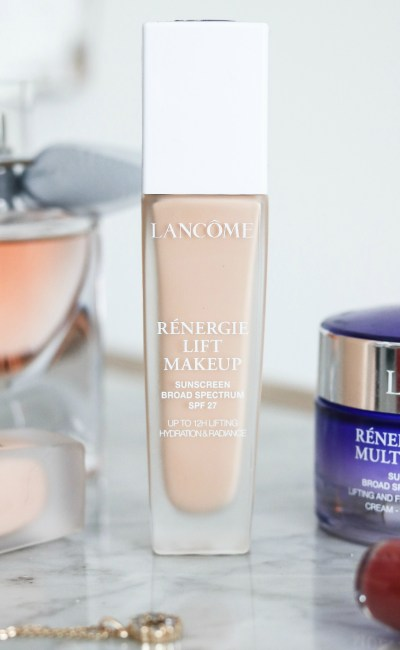 The New Lancome Renergie Lift Foundation
