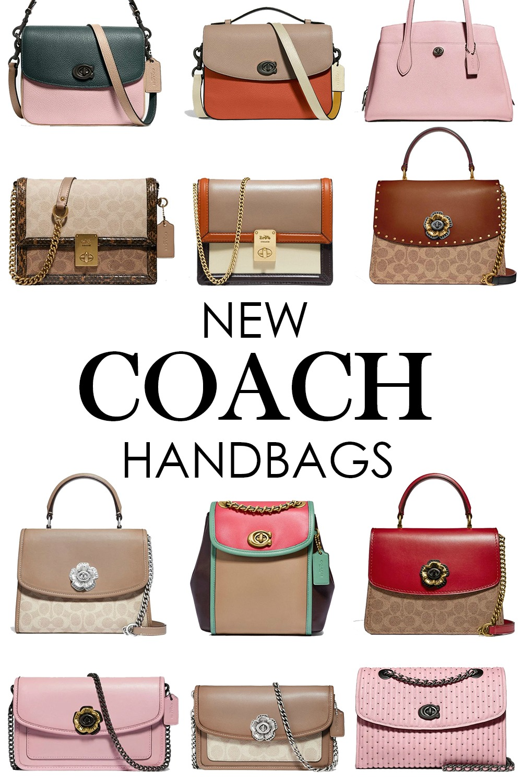 New Coach Handbags for Spring 2020 I DreaminLace.com