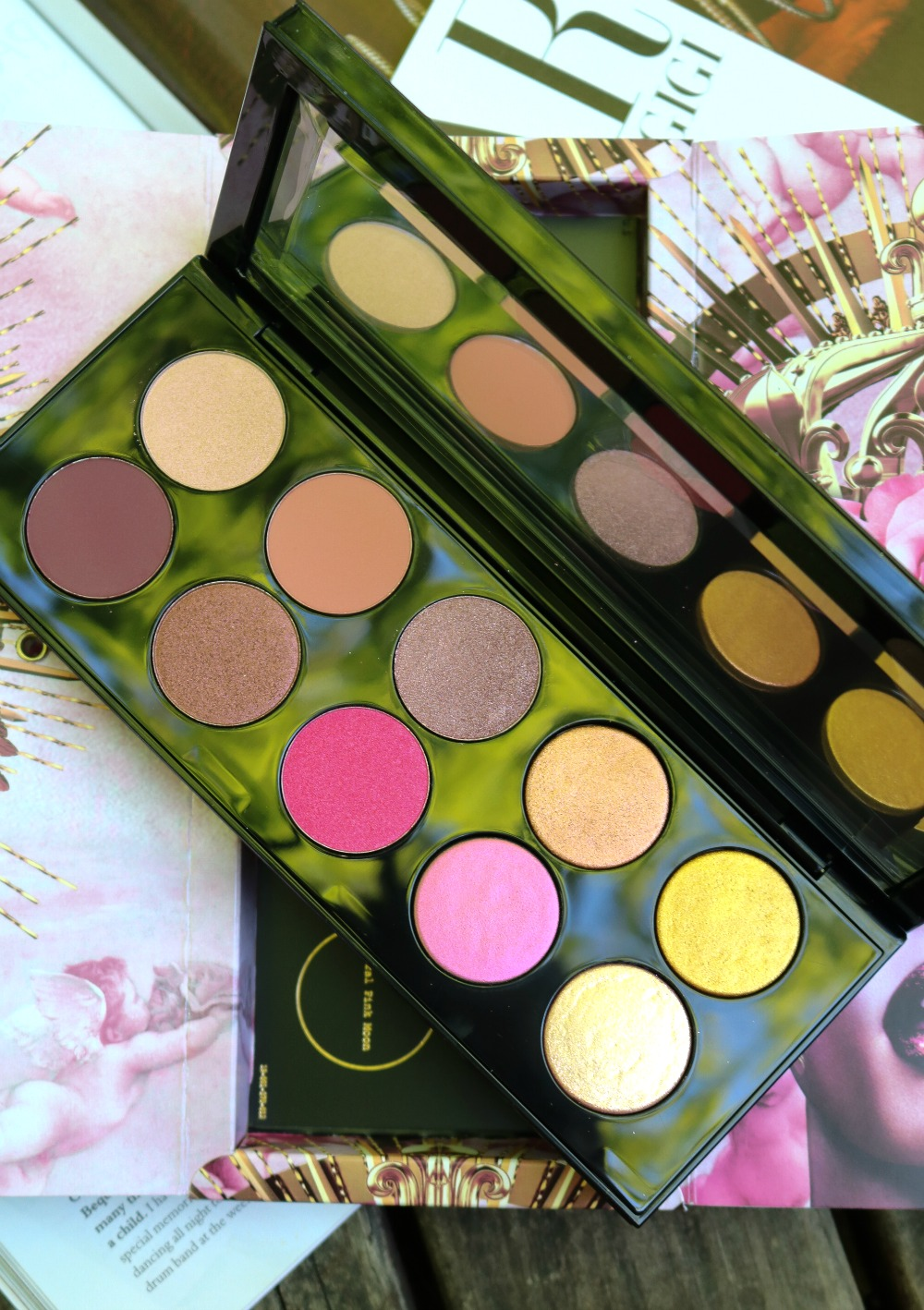 Pat McGrath Divine Rose II Eyeshadow Palette Review I Dreaminlace.com
