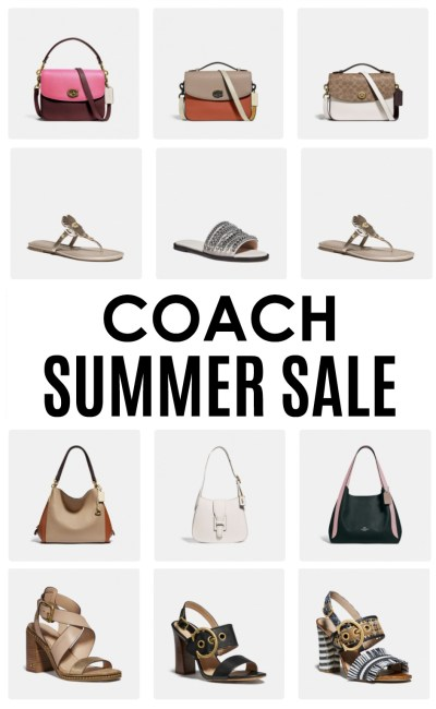 The Top Picks from COACH's Major Summer Sale