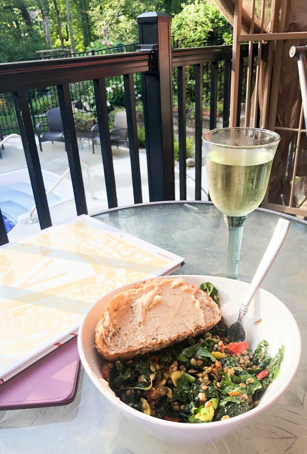 Lentil Salad Recipe from Bon Appetit I DreaminLace.com #Salad #VeganRecipes #RecipeoftheDay